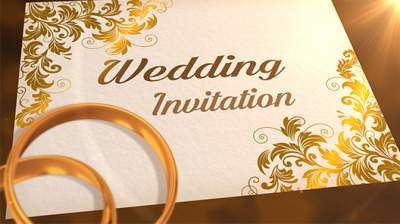 Whatsapp Christian wedding invitation