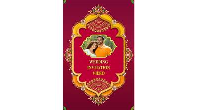 how to make wedding invitation video