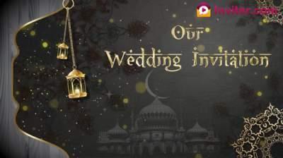 Muslim wedding video