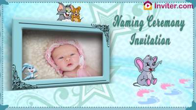 Marathi Naming Ceremony Invitation Video Maker Inviter