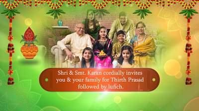 Housewarming and Satyanarayana Puja Video