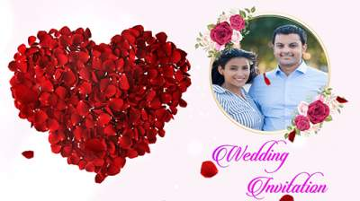online wedding invitation video